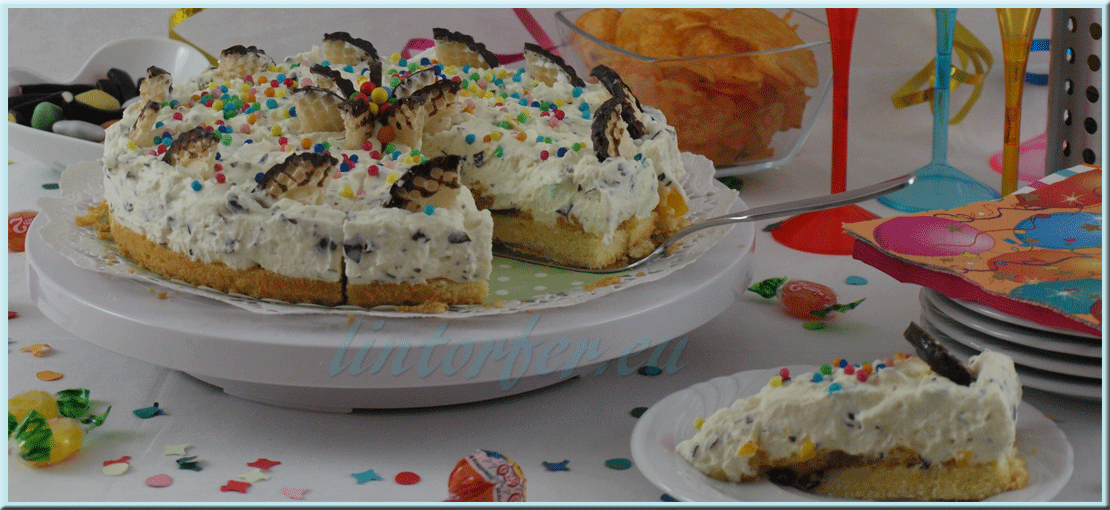 Backen: Konfetti-Schokokuss-Kuchen