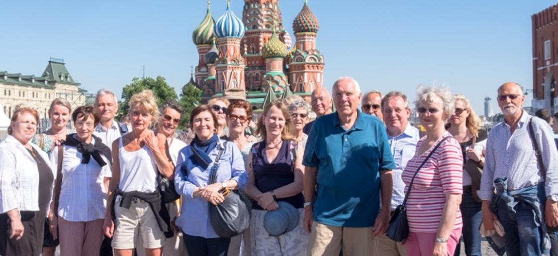 Museumsfreunde reisen nach Moskau