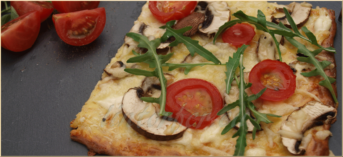Kochen: Low-Carb-Pizza